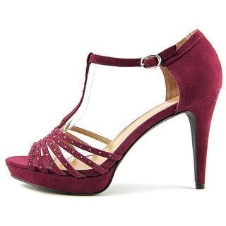 Style & Co Women's Ceejay T Strap Heels