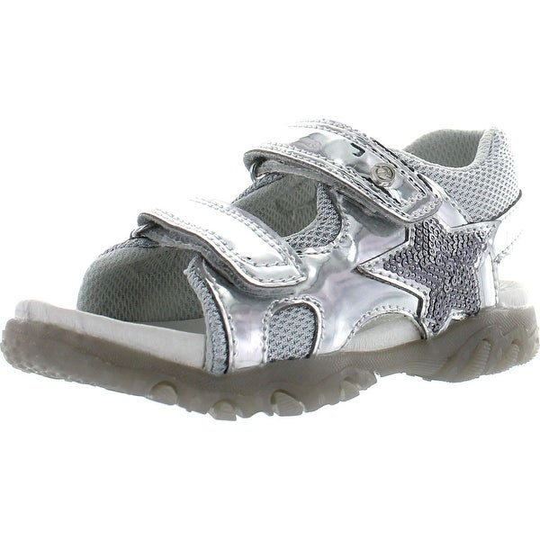Naturino Girls 523 Fashion Sandals - Silver