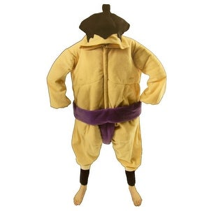 Men's Sumo Wrestler Halloween Sports Athlete Costume - standard - one size