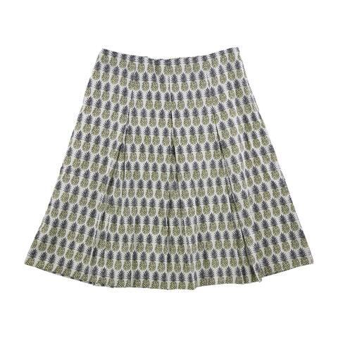 Charter Club Womens Print A-Line Skirt