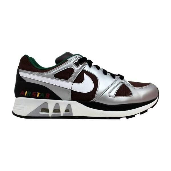 1f6ab98f1e5cf Shop Nike Men's Air Stab Baroque Brown/White-Reflect Silver 315841 ...