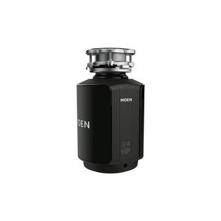 Moen GXS75C GX 3/4 HP Continuous Garbage Disposal with SoundSHIELD Technology, Vortex Motor and Power cord included.