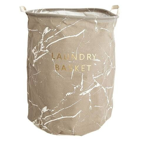 Cocus Pocus Marble Laundry Basket