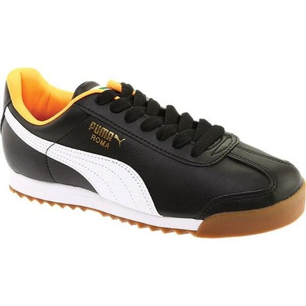 Roma Basic Puma Black/Orange Pop