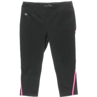 L-RL Lauren Active Womens Striped Pull On Athletic Pants