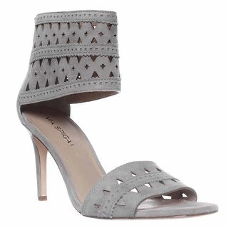 Via Spiga Vanka Ankle Cuff Dress Sandals, Grey