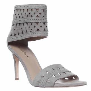 Via Spiga Vanka Ankle Cuff Dress Sandals - Grey
