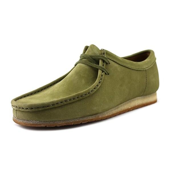 Clarks Artisan Wallabee Step Men Moc Toe Leather Tan Oxford