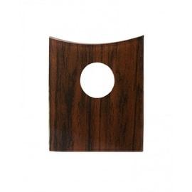 Bathroom Faucet Part Glass Mahogany Disc Single Hole