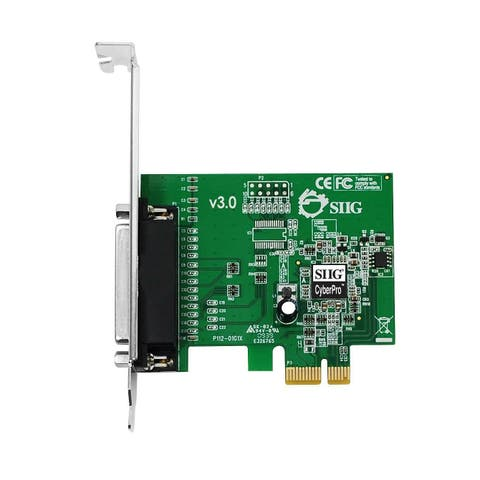 SIIG JJ-E01011-S3 SIIG CyberParallel JJ-E01011-S3 PCIe Parallel Adapter - PCI Express