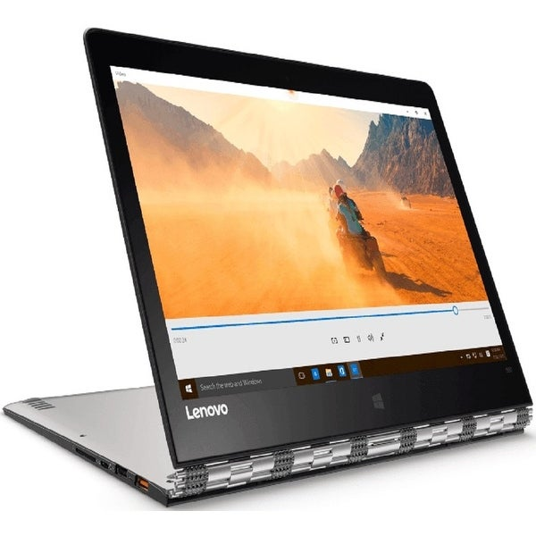 "Lenovo Yoga 900-13ISK2 13.3"" Refurb Laptop - Intel i7 6th Gen 2.2 GHz 8GB 256GB SSD Win 10 Home - Webcam, Touchscreen, Bluetooth"