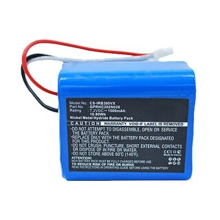 Replacement Battery for iRobot IRB380VX (Single Pack) Replacement Battery