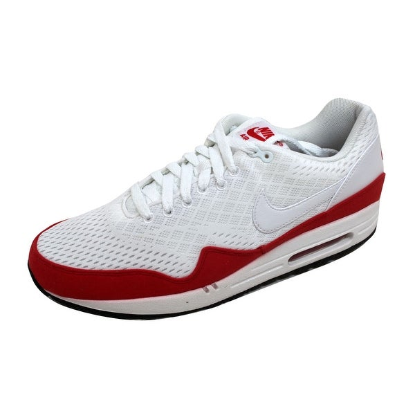 Shop Nike Men s Air Max 1 EM White White-University Red 554718-161 ... 98fd93ed1a