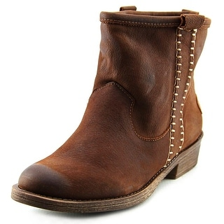 Coolway Carlin Women Round Toe Leather Brown Western Boot