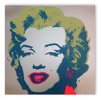 Marilyn Monroe #26 by Andy Warhol Portrait Art Print