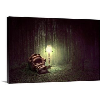 """""""Inside out"""" Canvas Wall Art"""