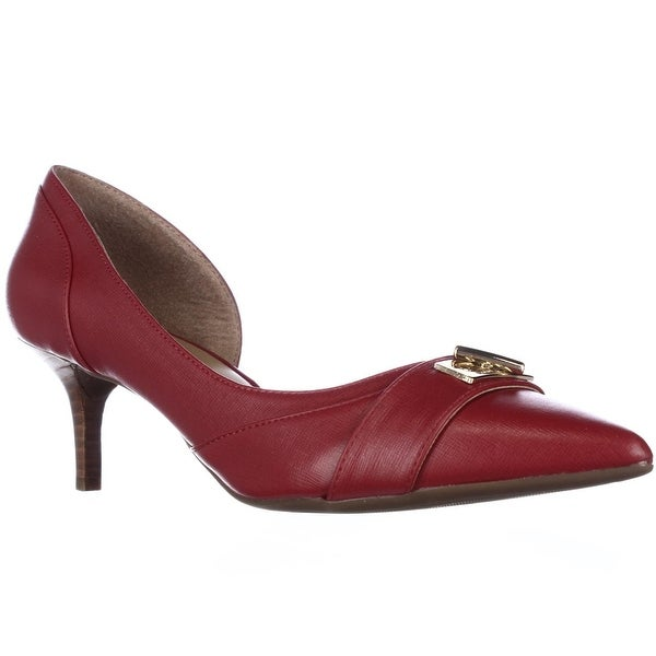 Tommy Hilfiger Joetta D'Orsay Dress Pumps - Dark Red