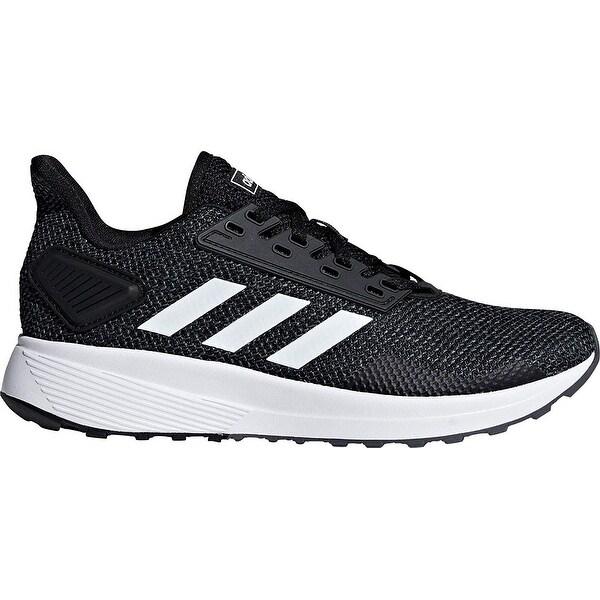 size 40 3f5cc 2e481 Shop Adidas Womens Duramo 9, BlackWhiteGrey, 7.5 M Us - Free Shipping  Today - Overstock.com - 25630447
