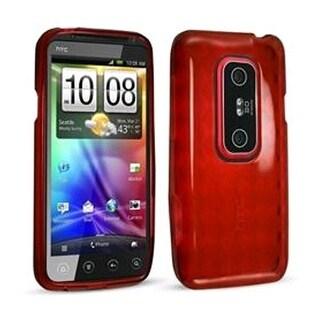 Technocel Slider Skin for HTC Evo 3D (Red)
