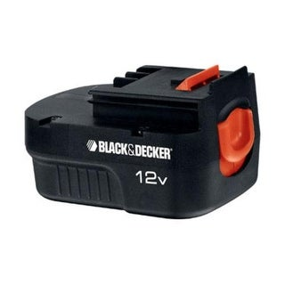 Black & Decker HPB12 Spring Loaded Slide Pack Battery, 12 Volt