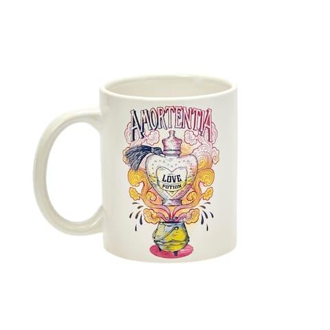 Harry Potter Amortentia Love Potion 11 Oz Ceramic Coffee Mug - White