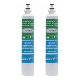 Aqua Fresh Replacement Water Filter for GE PFE28RSHSS Refrigerators - 2 Pack