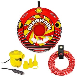Sportsstuff brainwash towable, rope, and pump kit 53-6501