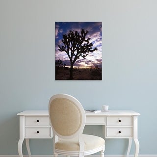 Easy Art Prints Charles Gurche's 'Joshua Trees' Premium Canvas Art