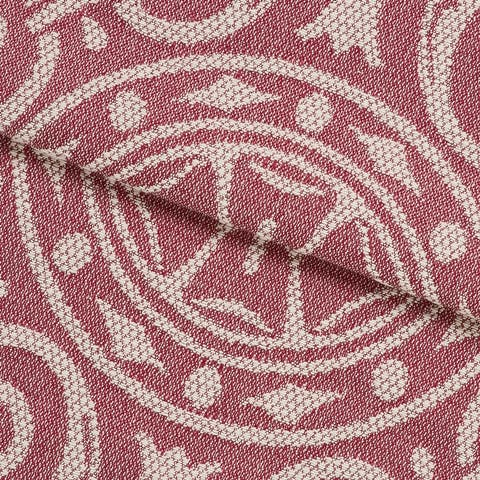 Miranda Haus Vintage Medallion Cotton Blend Woven Bedspread Set