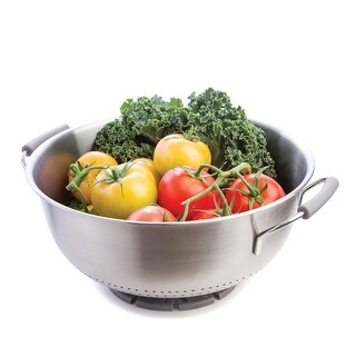 Progressive International PL8 Stainless Steel Colander-5 Quart