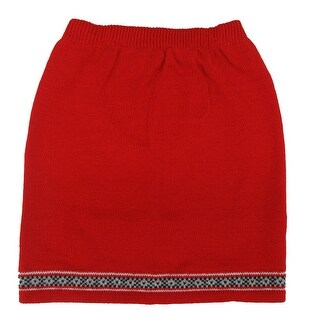 Disney Girls Red 101 Dalmatians Inspired Style Knitted Skirt