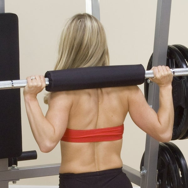 Body-Solid Weight Bar Pad Cushion - Black