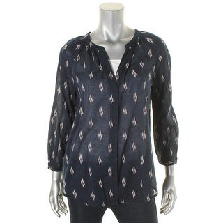 Paige Womens Blouse Cotton Printed - m