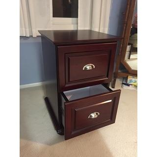 Copper Grove Du Lac Two Drawer Espresso Storage Cabinet