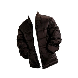 Roper Western Jacket Boys Kid Zipper Quilted Brown 03-397-0761-0780 BR