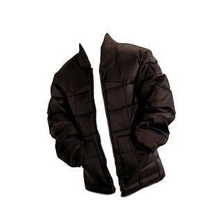 Roper Western Jacket Boys Kid Zipper Quilted Brown 03-397-0761-0780 BR