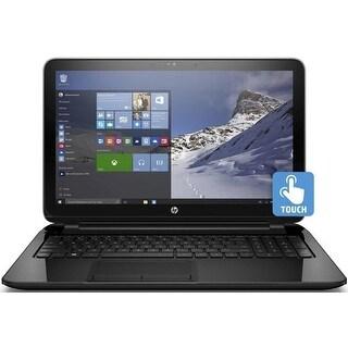 HP 15-f387wm 15.6 Touch AMD Quad-Core A8-7410 2.2GHz 4GB 500GB DVDRW Laptop (Refurbished)