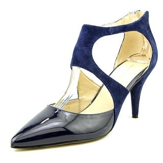 Marc Fisher Kabriele Women Pointed Toe Suede Blue Heels