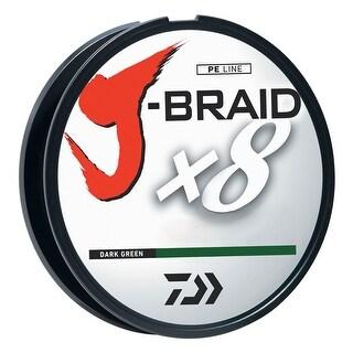 Daiwa J-Braid Dark Green Fishing Line 330 Yards 50lb Test  JB8U50-300DG