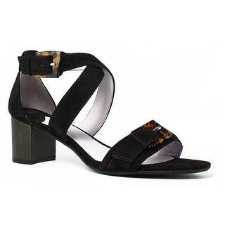 Johnston & Murphy Womens Katarina Black Sandals Size 7.5