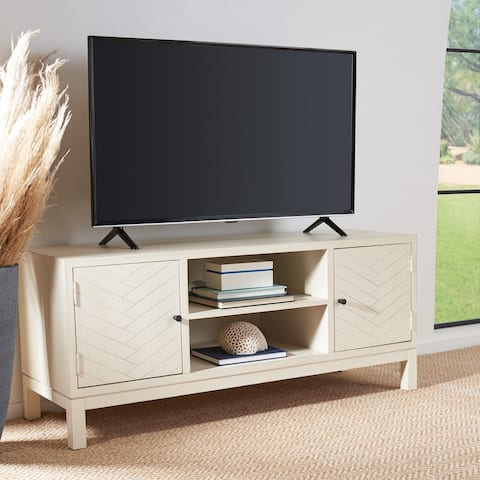 "Safavieh Ajana 47-inch Storage Media TV Stand - 47.3"" W x 15.8"" L x 20"" H"