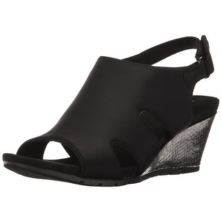 Bandolino Womens Galedale Open Toe Casual Platform Sandals
