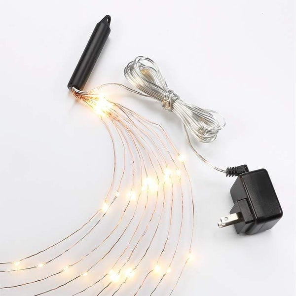 Bulbrite 810066 10' LED Plug-In Indoor Multi-Strand String Lights from Starry Collection