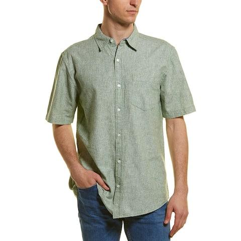 Vintage 1946 Linen-Blend Woven Shirt