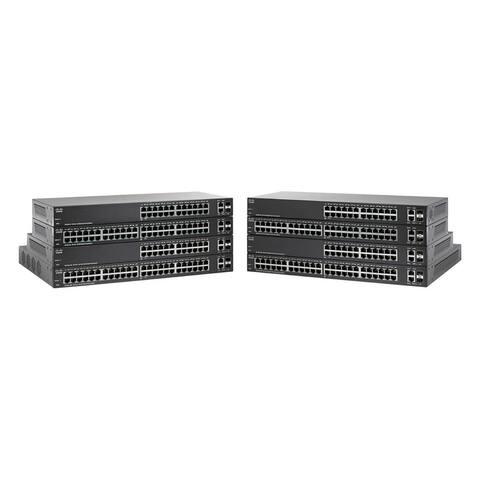 CISCO SYSTEMS 48-Port 10/100 Smart Plus Switch (SF22048K9NA) - Black