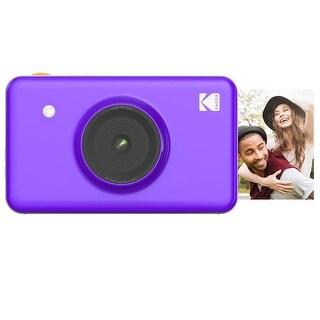 KODAK Mini Shot Wireless Instant Digital Camera & Social Media Portable Photo Printer, Compatible w/iOS & Android (Purple)