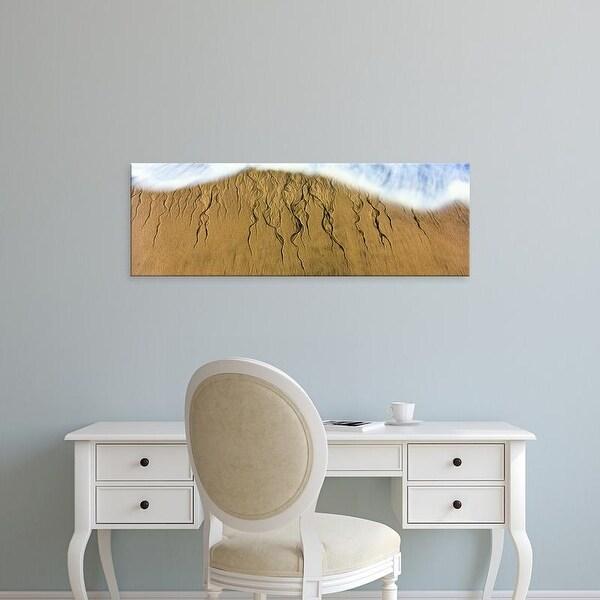 Easy Art Prints Panoramic Image 'Intricate pattern, Cerritos Beach , Baja California Sur, Mexico' Canvas Art