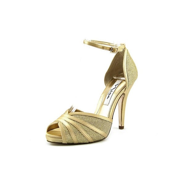 Nina Elanna Open-Toe Synthetic Heels