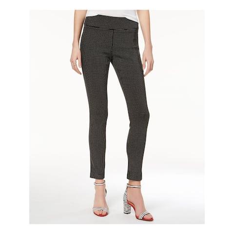 INC Womens Black Patterned Skinny Pants Size 20W