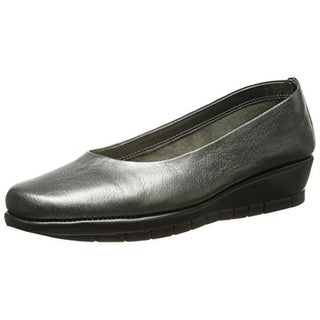Aerosoles Womens Lantern Leather Slip On Loafers